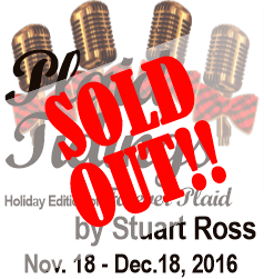 Plaid Tidings is Sold-Out!