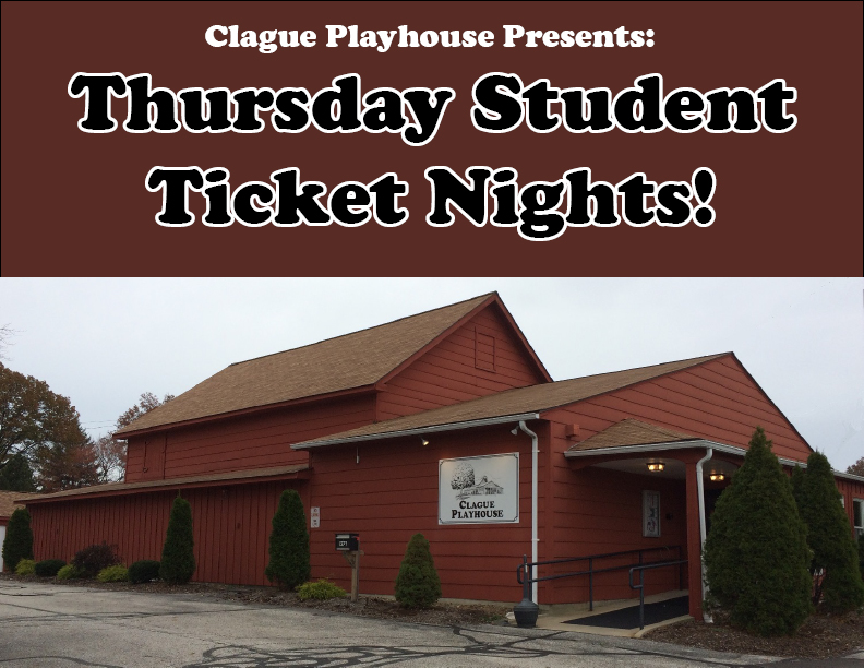 FREE Student Tickets for Thursday Night performances!