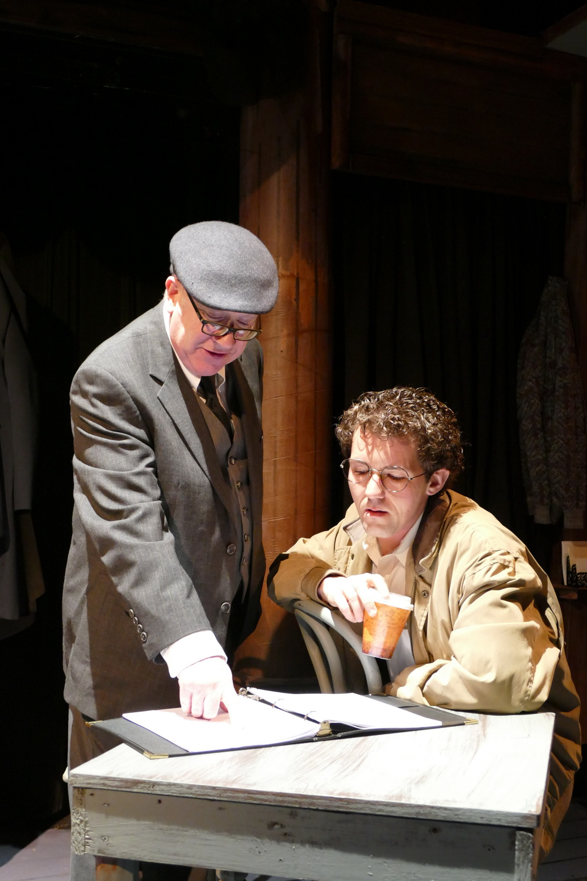 Bob Goddard as Kipps and Jeremy Jenkins as The Actor