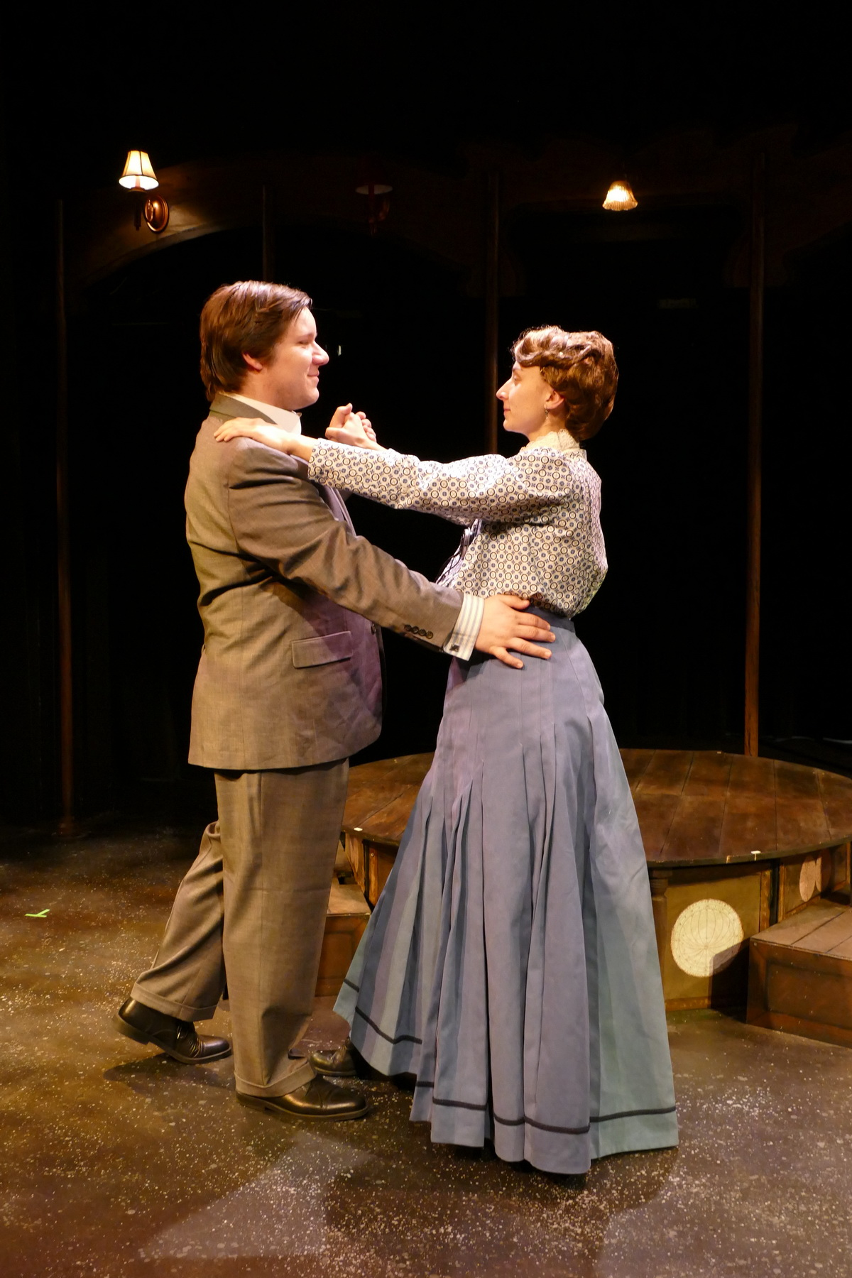 Andrew Keller as Peter Shaw and Brittany Gaul as Henrietta Leavitt