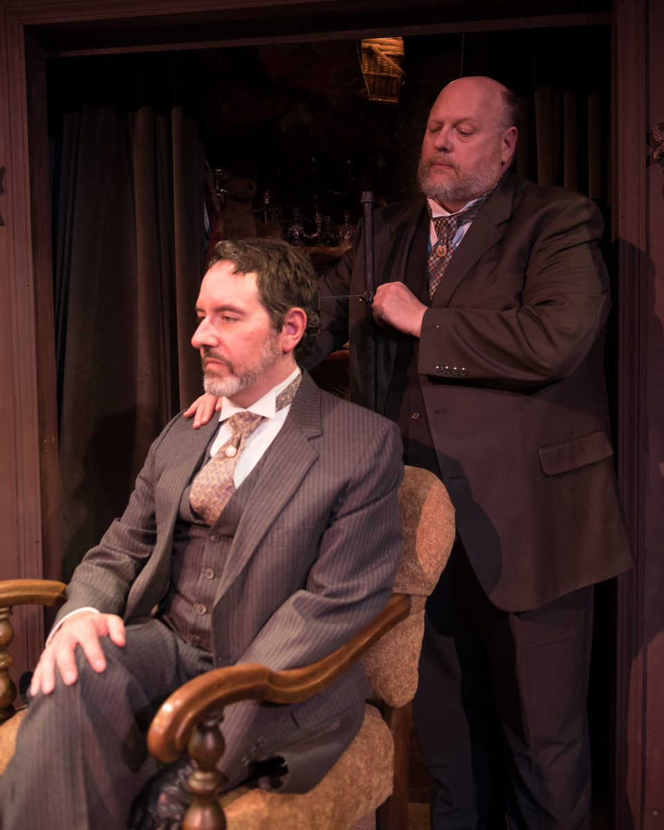 Dan Sekanic as Joseph Tooker & Chuck Cover as William H. Mumler