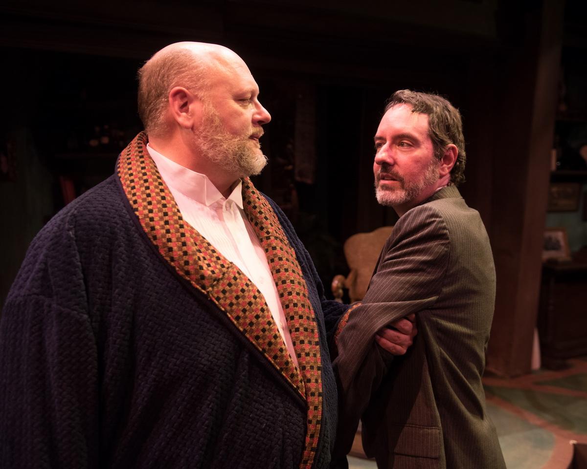 Chuck Cover as William H. Mumler  & Dan Sekanic as Joseph Tooker