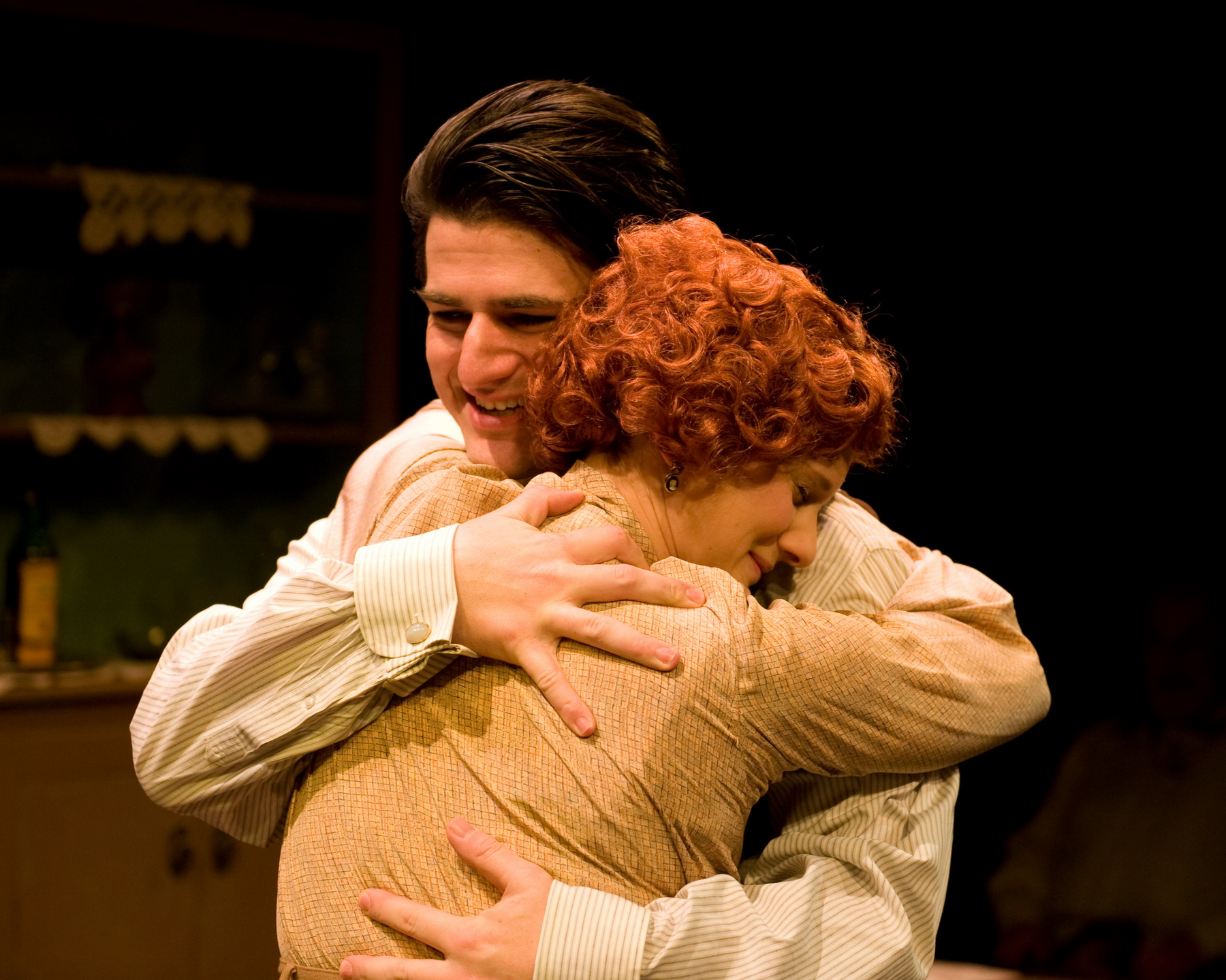 Ryan Christopher Mayer as Nigel Lawrence and Monica Zach as Mavis Wilson