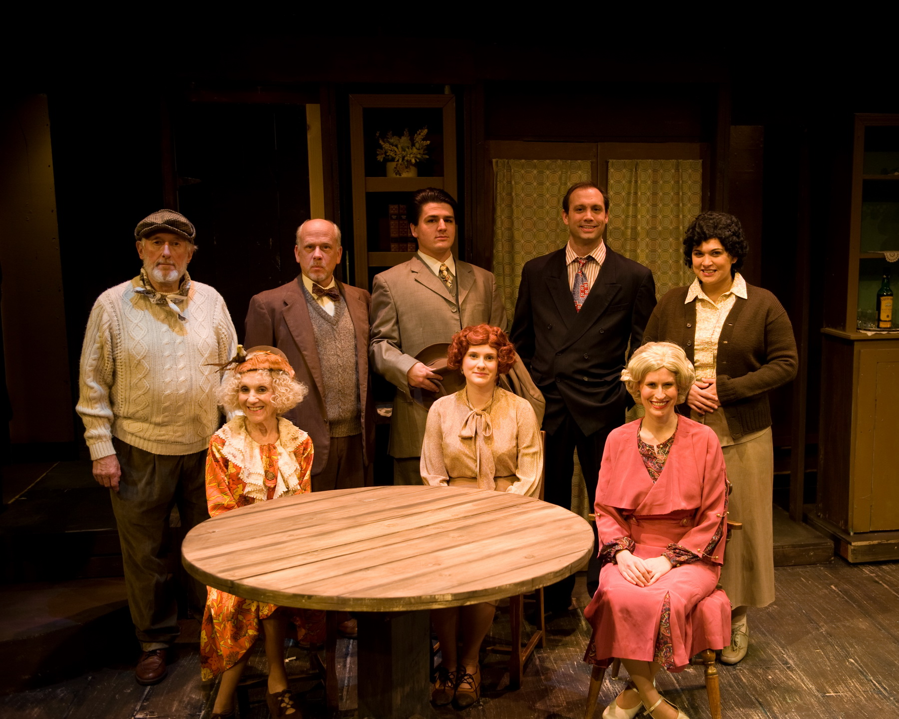 "Cast of ""Love From A Stranger"""