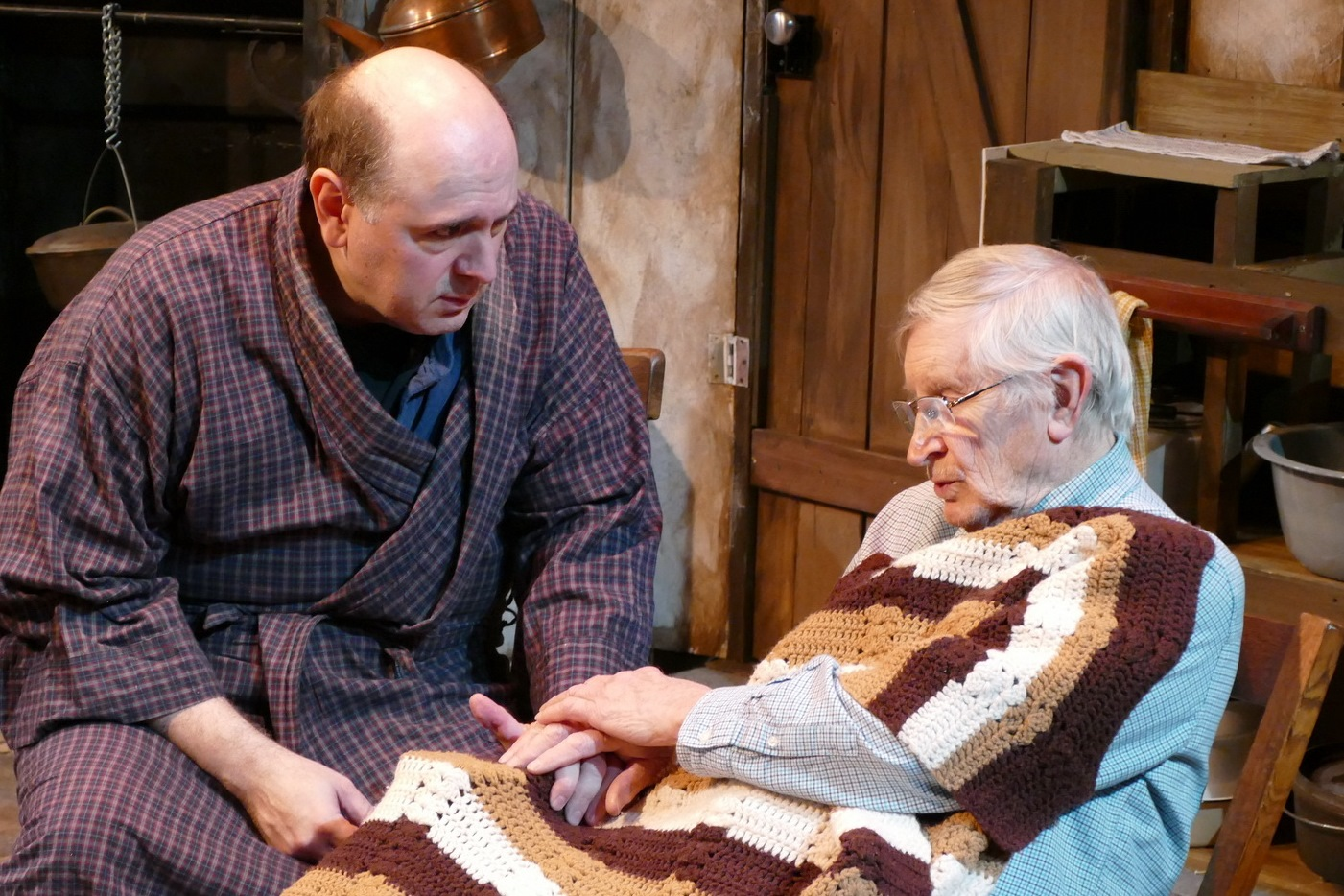 Chris D'Amico as Anthony Reilly and Ron Newell as Tony Reilly