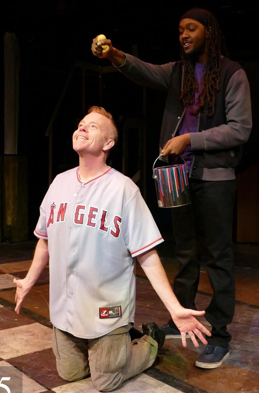 Rick Dawson as Jesus and Isaiah Blue as John the Baptist/Judas