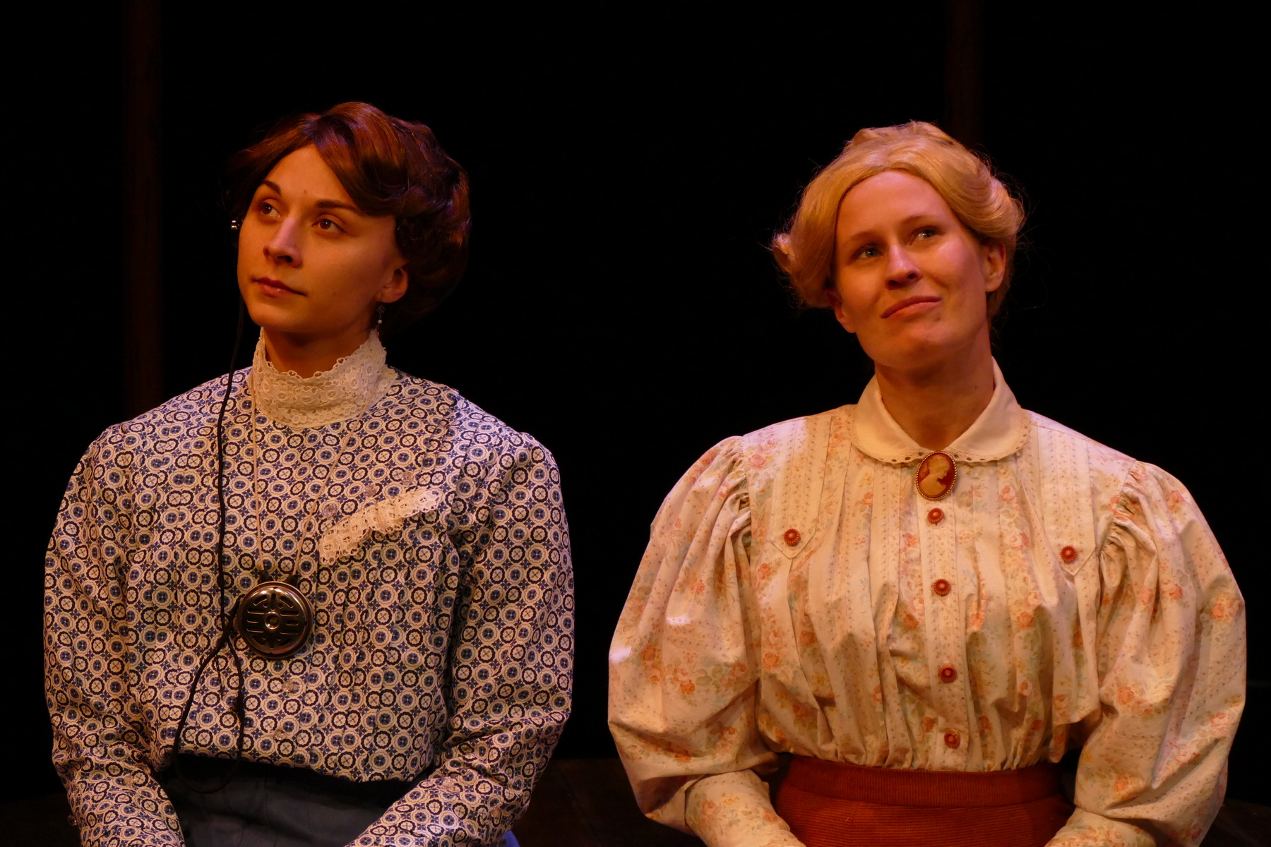 Brittany Gaul as Henrietta Leavitt and Jill Kenderes as Margaret Leavitt