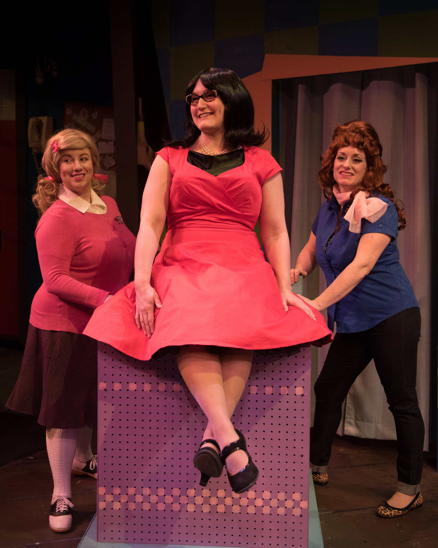 Ellie St. Cyr as Cindy, Kate Klotzbach as Dee Dee and Eileen Canepari as Marge