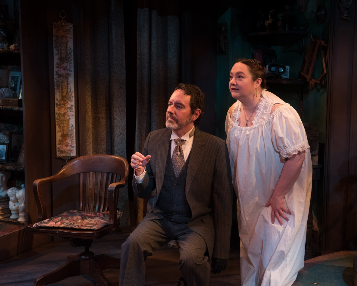 Dan Sekanic as Joseph Tooker & Elaine Feagler as Mrs. Mumler